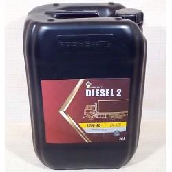 Масло Роснефть Diesel 2 10W40 CH-4/SJ (20л) п/с